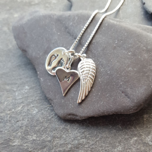 Footprints of an Angel necklace